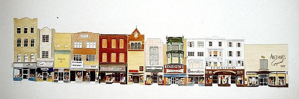 Market St. by William Renzulli