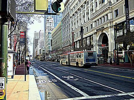 Market Street San Fancisco USA by Bill Lighterness