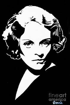Marlene Dietrich by Bonnie Cushman