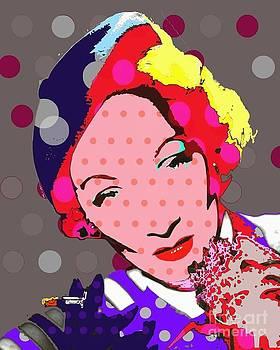 Marlene Dietrich by Ricky Sencion