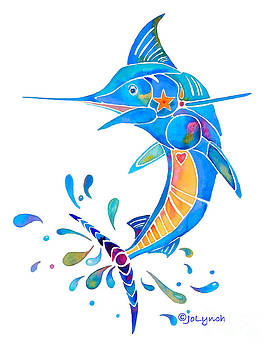 Marlin Dance of Color by Jo Lynch