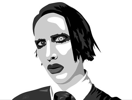 Marliyn Manson by Paul Dunkel