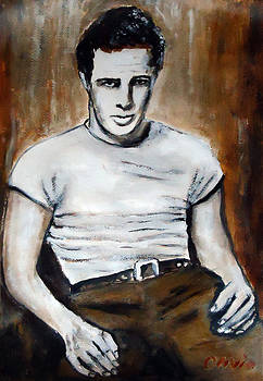 Marlon Brando by Olivia Gray