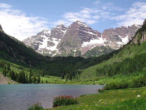 Maroon Bells by Kim Baker