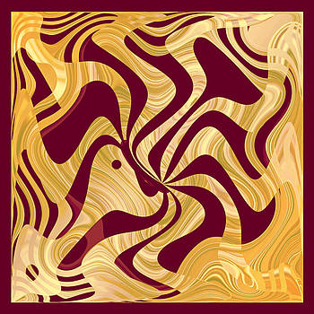 Joe  Connors - DESIGN SQUARE 43   Marooned in Golden Currents