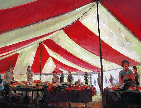 Marquee passing by Robert Shaw