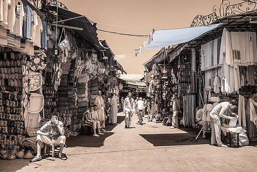 Marrakech Souk by Ellie Perla