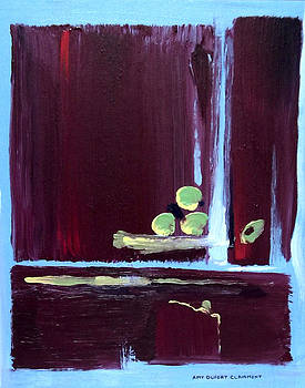 Marsala Triad 1 by Amy Dufort Clairmont