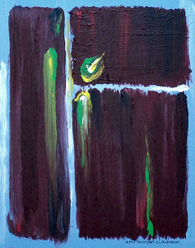 Marsala Triad 2 by Amy Dufort Clairmont
