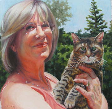 Marsha And Annie by Dan Fusco