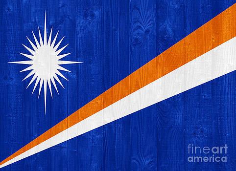 Marshall Islands flag by Luis Alvarenga