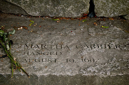 Sherlyn Morefield Gregg - Martha Carrier Memorial
