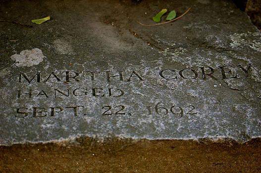 Sherlyn Morefield Gregg - Martha Corey Memorial