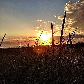 #marthasvineyard #sunset #southbeach by Eugene Bergeron