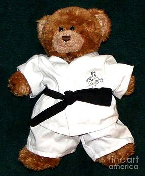 Gail Matthews - Martial Arts Karate Teddy Bear