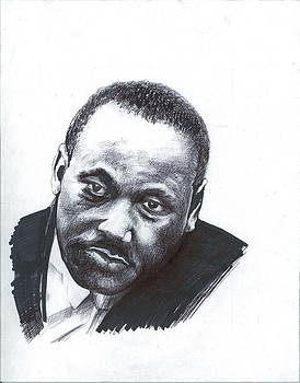 Martin Luther King by Jim  Romeo