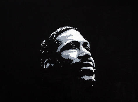 Marvin Gaye by Ray Johnson