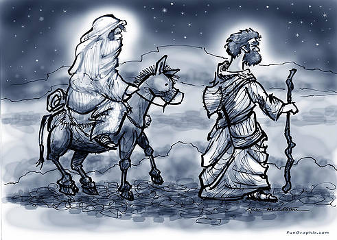 Mary and Joseph  by Kevin Middleton