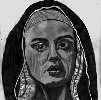 Mary at the Cross by Timothy Fleming