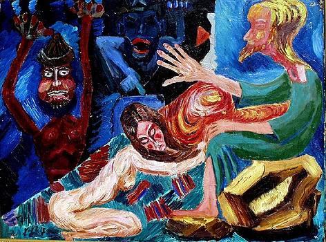 Mary Magdalene by Vladimir A Shvartsman