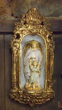 Mary with Jesus by Dennis Pintoski