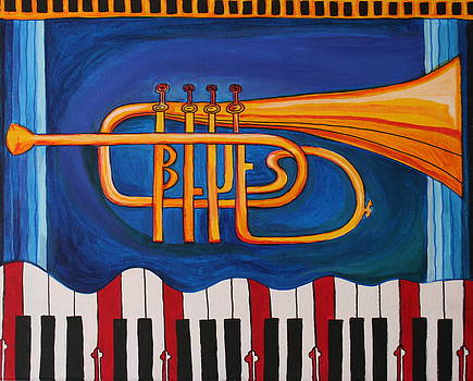 Maryland Blues Trumpet by Kate Fortin
