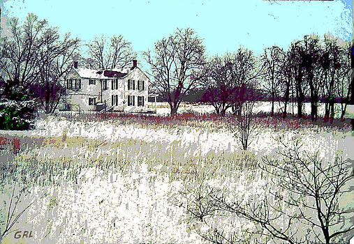 G Linsenmayer - MARYLAND WINTER FARM 2c ORIGINAL DIGITAL ART
