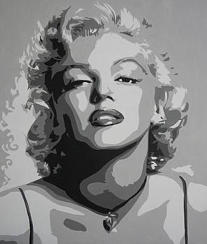 Tribute to Marilyn Monroe by Bitten Kari