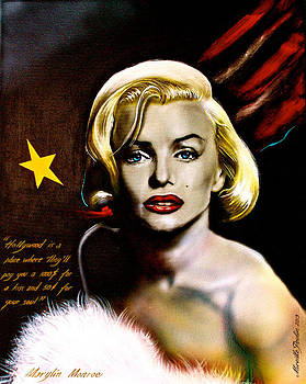 Marylin Monroe by Mireille  Poulin