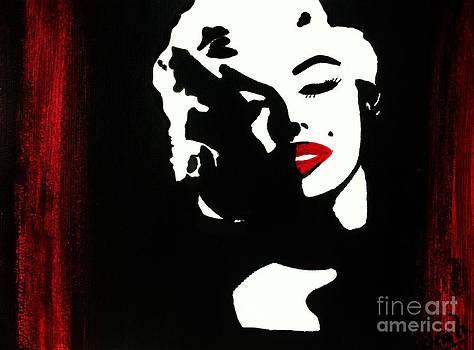 Jessie Art - Marylin Pop Art Portrait
