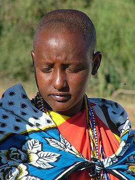 Masai Villager by Judith Sweeney
