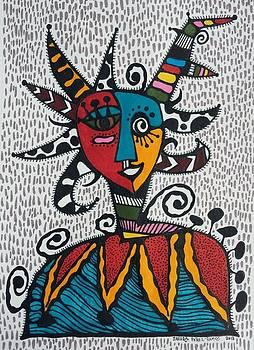 Mascara Vejigante by Sandra Perez-Ramos