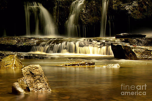 Mash Fork Falls by Melissa Petrey