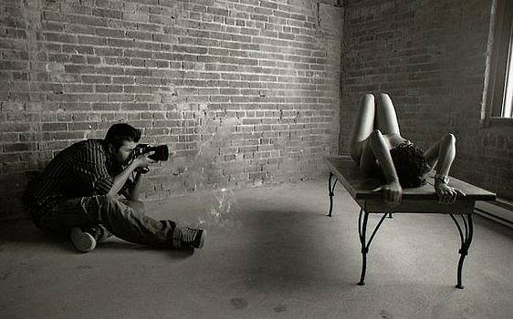 Masi Shoots a Nude by Nicholas Gregory