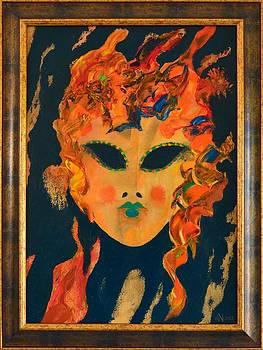 Mask 1 by Ioan Angel Negrean by Ioan Angel Negrean