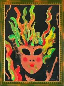 Mask 2 by Ioan Angel Negrean by Ioan Angel Negrean