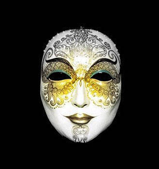 Mask With A Hint Of Eastern by Alexsandr Lovchikov