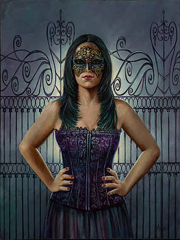 Masked Defiance  by Geraldine Arata