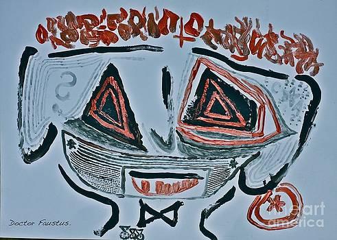 Masked gunman - Russian Roulette Gas Desperados. by  Andrzej Goszcz