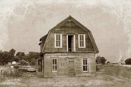 Mason City - Nebraska by Andrea Kelley