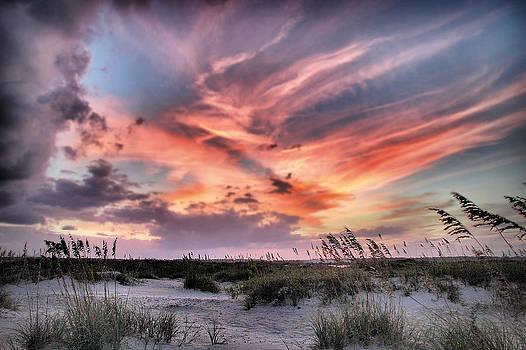 Masonboro Inlet September Sunset by Phil Mancuso