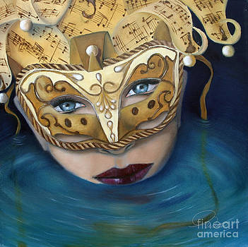 Masquemermaid by AWellsArtworks Fine Art