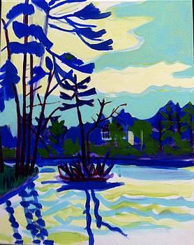 Massapoag Island by Debra Bretton Robinson