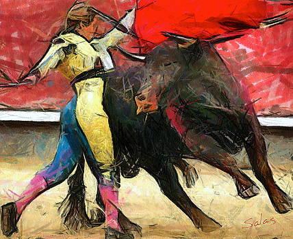 Masterful matador by Francisco Sanchez Salas