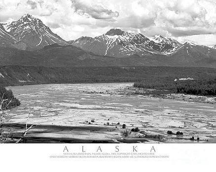 Matanuska River and Mountains by Kimberly Blom-Roemer