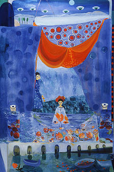 Matisse Fishing for the Roses by Alexandra Rozenman
