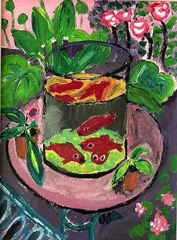 Matisse The Gold Fish Recreation by Ethan Altshuler