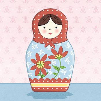 Matryoshka Doll  by Amanda Francey