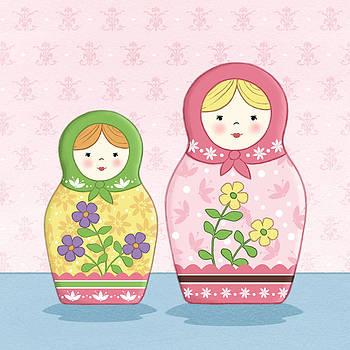 Matryoshka Sisters by Amanda Francey