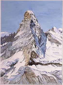 Matterhorn Wallis by Fritz Engelhardt